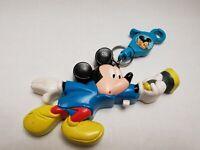 Vintage Disney Mickey Mouse Flashlight Keyring Collectible Toys 1993 Fast Shippi