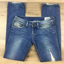 Diesel Industry Women's Jeans Lowky Straight Leg Size 26 Actual W30 L31.5 (AW3)