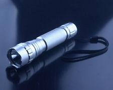 Silver UltraFire WF-501B CREE XM-L2 U2 LED 1200LM 1 Mode 18650 Flashlight Torch