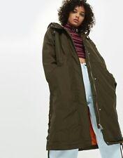 BNWT New Topshop long parka padded winter coat 10 12 rrp £69
