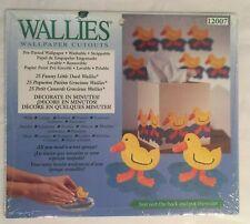 25 Little Yellow Rubber Water Duckies Duck Wallies Wallpaper Cutouts Wall Decor