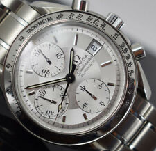 OMEGA SPEEDMASTER DATE 3513.30 AUTOMATIC CHRONO BOX/PAPERS/1YEAR GTEE 2002 YEAR