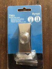 Byron 7960BN cablato BELL PUSH nichel spazzolato