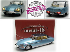 1969 Citroen DS 21 Chapron Lorraine Light Blue by Metal 18 LE of 1200 1/18 New