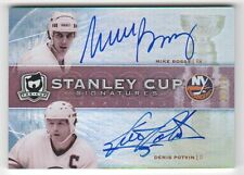 2009-10 Upper Deck The Cup Mike Bossy / Denis Potvin Auto Stanley Cup #19/25
