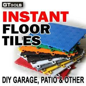 Sample Piece of Interlocking DIY Garage Garden Pool Kitchen Floor Tiles 305x10mm