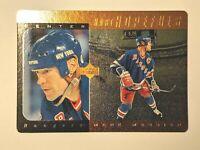 1996-97 Upper Deck Hart Hopefuls Bronze #HH2 Mark Messier Rangers Card /5000