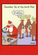 So Yesterday 12 Funny Boxed Christmas Cards by Nobleworks