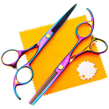 """Professional Hairdressing Scissors Barber Hair Cutting Thinning Shears Set 5.5"""""""