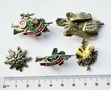 VINTAGE AUSTRIA HUNTING/HUNTERS-Lot of 5 pins