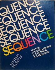 Sequence Board Game Jax Vintage 1992 Family Fun Card Strategy Challenge