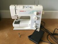 BERNINA 1008 Sewing Machine Recently Serviced With Pedal and Zipper Foot