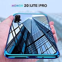 COVER per Honor 20 / Lite / Pro CUSTODIA ELECTRO TPU + PELLICOLA VETRO TEMPERATO