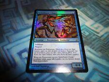 MTG Magic Foil German Mistbind Clique EX/LP+ Lorwyn Nebelband-Clique