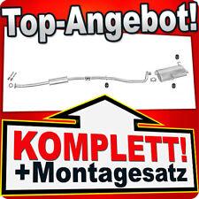 Auspuff PEUGEOT 206 1.1 1.4 1.6 Kombi SW Auspuffanlage 412