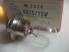 HONDA Headlight Bulb 6V 15/15W C100 CA110 CT70 CL70 ATC90 Replace 34901-001-671