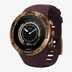 Suunto 5 GPS Sports Watch in Burgundy/Copper —24/7 Activity Tracking, Heart Rate