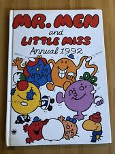 Mr. Men and LIttle Miss Annual 1992 Vintage Book Retro Christmas Gift Present