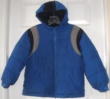 Old Navy Boys Blue Hooded Zip Up Puffer Jacket Winter Gear Small (6-7)