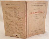LEIBNIZ LA MONADOLOGIA EMILIO BOUTROUX JOSEPH COLOMBO 1946 FILOSOFIA MONADI