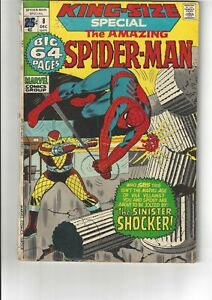 King-Size Annual Amazing Spider-Man  #8 VG/FN 5.0 Marvel Comics 1971
