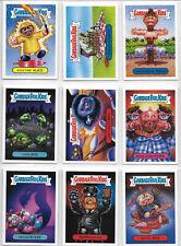 GPK Garbage Pail Kids Revenge of the Horrorible Complete Black Light Card Set
