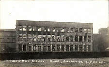 Ovenden near Halifax. Grove Mill Burnt July 20 1905 # 242 by Hx.P.Co.