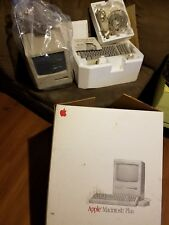 Vintage Apple Macintosh Plus M0001A 1Mb Desktop Classic PC Computer mint cond