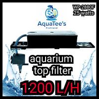RECENT WP-2880F TOP FILTER POND/AQUARIUM WATER PUMP 1200L/H MARINE AQUA FOUNTAIN
