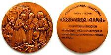Medaglia Alessandro Manzoni – Promessi Sposi Capitolo XXXVI Bronzo cm 5,5