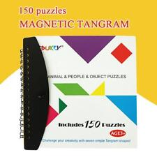 Tangram Puzzle Brain Teaser Toy Chinese Game Jigsaw Puzzles Kids Games Education