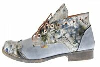 Damen Leder Stiefeletten Comfort Boots Knöchel Schuhe TMA 5166 Halbschuhe