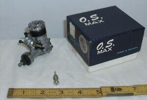 O.S. MAX III 15 RC MODEL GAS AIRPLANE TETHER CAR ENGINE BOXED UNUSED 1960s