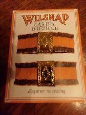 Victorian Attire Civil War Fancy Garter Buckle 19th Century Accessory New