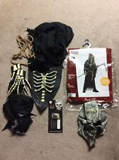 Helloween Dark Messenger Costume Child Size Large 10-12