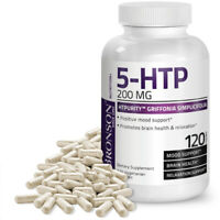 5-HTP 200mg HTPurity™ Griffonia Simplicifolia - Positive Mood, 120 Veg Capsules