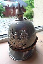 alter Helm   aus Kostümfundus  Pickelhaube Metallhelm