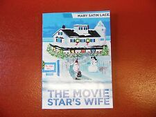 Signed by Author, The Movie Star's Wife by Mary Satin Lace (2015 Pbk)FREE SHIP