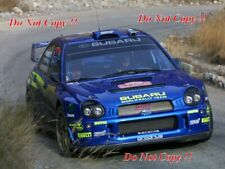 Tommi Makinen Subaru Impreza WRC2001 Winner Monte Carlo Rally 2002 Photograph 1