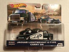 Hot Wheels Team Transport Jaguar Lightweight E-Type Carry On