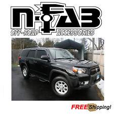 """N-Fab 3"""" Wheel 2 Wheel Nerf Step Textured Black For 15-19 Toyota 4Runner TRD PRO"""