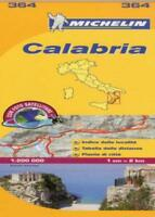 Calabria (Michelin Local Maps) (Michelin Regional Maps) by Michelin | Map Book |