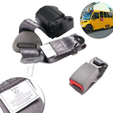 For Toyota 3-Point Universal Safety Seat Belt Dark Gray Seatbelt Strap Retractor