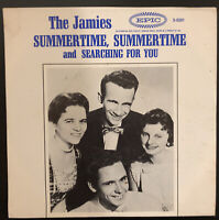 45P THE JAMIES SUMMERTIME,SUMMERTIME/SEARCHING FOR YOU ON EPIC  RECORDS