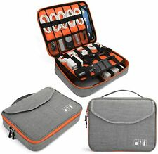 Electronics Bag, Electronic Accessories Travel Cable Organizer Waterproof Cord S