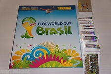 ♥ ALBUM PANINI FIGURINE WC BRASIL 2014 VUOTO + SET COMPLETO EMPTY WORLD CUP FIFA