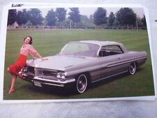 1962  PONTIAC GRAND PRIX   IN COLOR     11 X 17  PHOTO  PICTURE