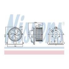 Fits VW Polo 6N2 1.9 D Genuine Nissens Interior Heater Blower Motor Fan