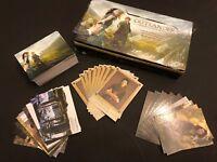 Cryptozoic Outlander Season 1 Base + 3 Chase Sets (99 cards, wrappers, box)