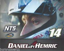 "2015 DANIEL HEMRIC ""NTS MOTORSPORTS"" #14 NASCAR CWTS POSTCARD"